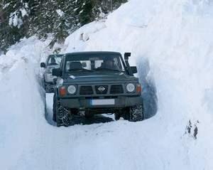 Préparer sa voiture 4x4 pour l'hiver – Le test