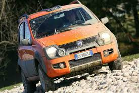 fiat panda cross le petit 4x4 4x4 occasion. Black Bedroom Furniture Sets. Home Design Ideas